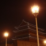 Piazza Qianmen by night