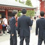 Studenti ad Asakusa